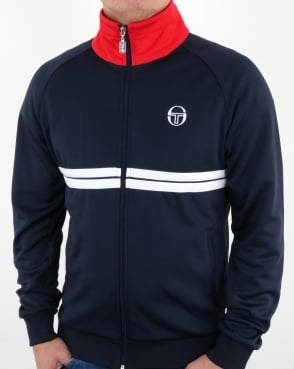 Sergio Tacchini Dallas Track Top Navy/Red/White