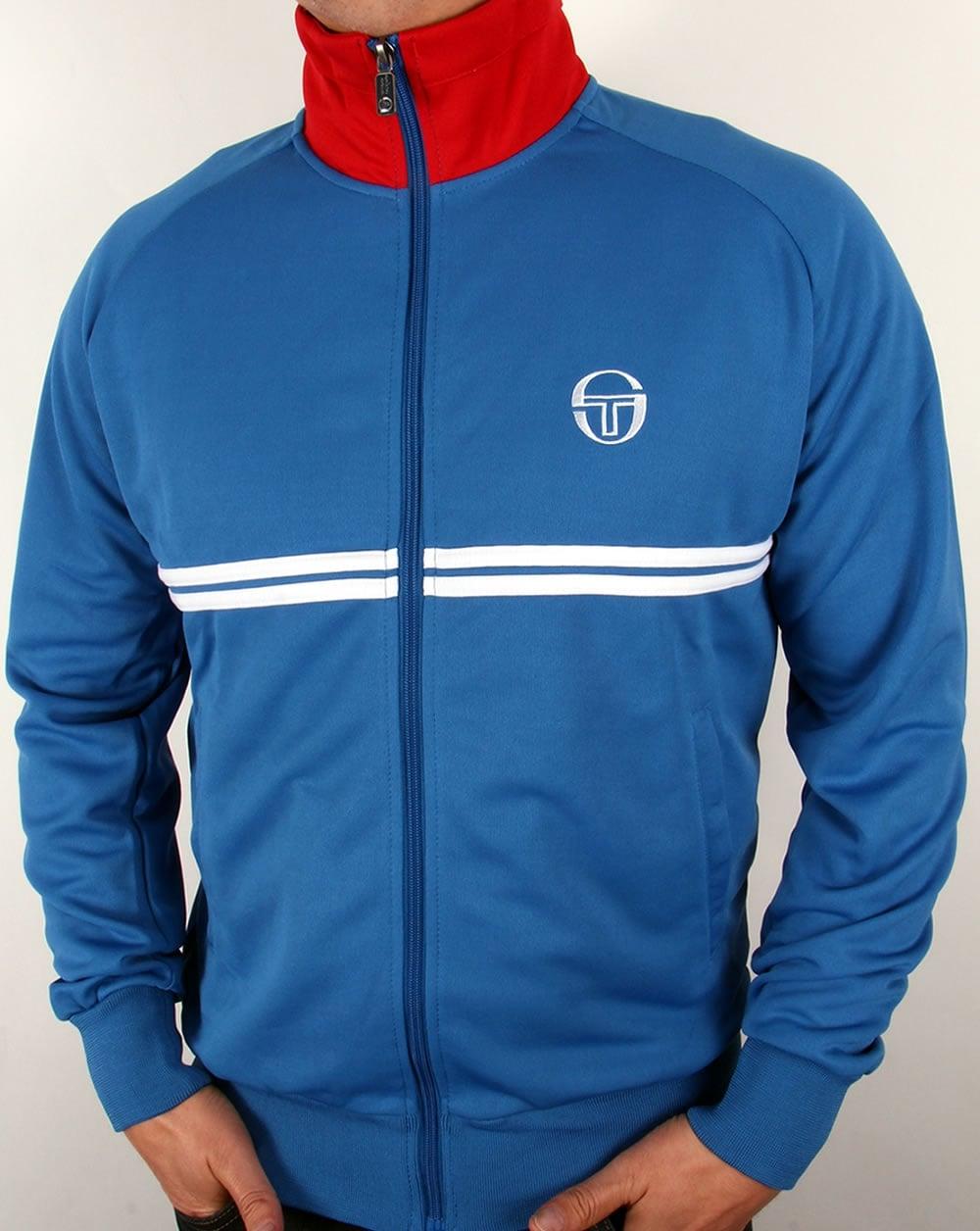 e40de1933a4c0 Sergio Tacchini Dallas Track Top Royal Blue - Sergio Tacchini Tracksuit