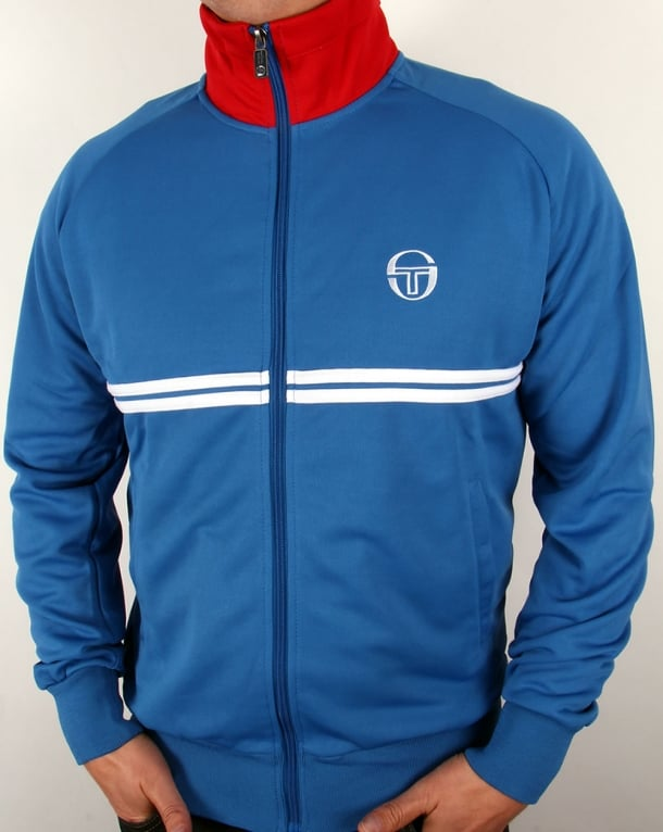 Sergio Tacchini Dallas Track Top Royal Blue