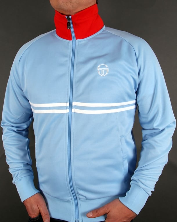 Sergio Tacchini Dallas Track Top Sky Blue