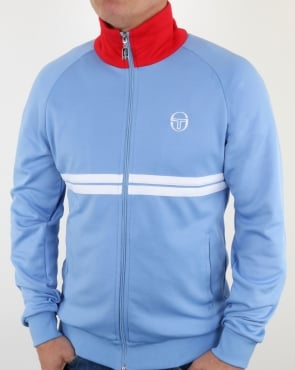 Sergio Tacchini Dallas Track Top Sky/Red/White