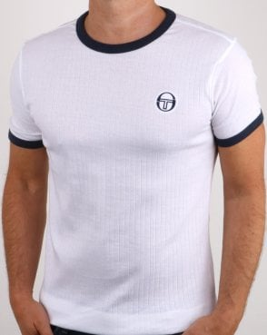 Sergio Tacchini Drop T-shirt White/navy