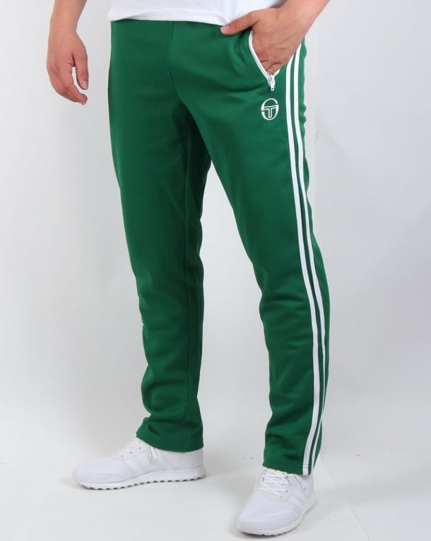 Sergio Tacchini G Master Tracksuit Bottoms Green/white