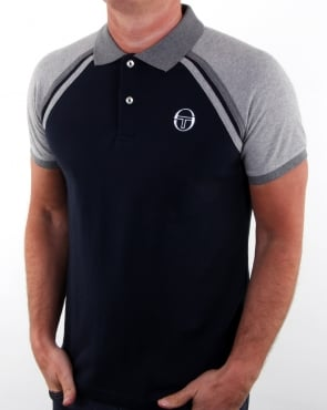 Sergio Tacchini Ghibli Polo Shirt Navy/grey