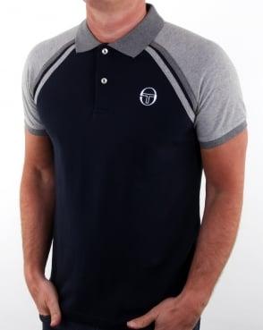 Sergio Tacchini Ghibli Polo Shirt Navy/grey