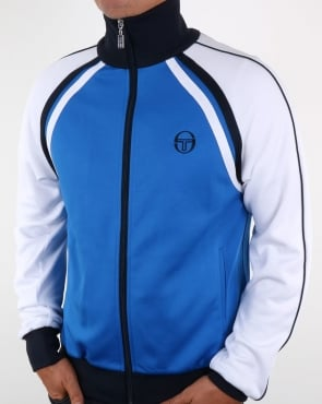 Sergio Tacchini Ghibli Track Top Royal/white