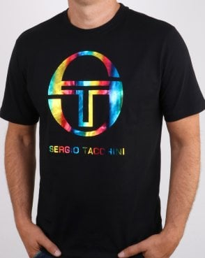 Sergio Tacchini Iberis T-shirt Black/multicolour