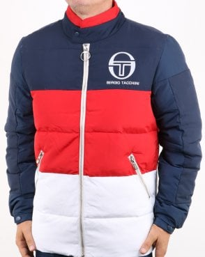 Sergio Tacchini Ice Jacket Navy/red/white