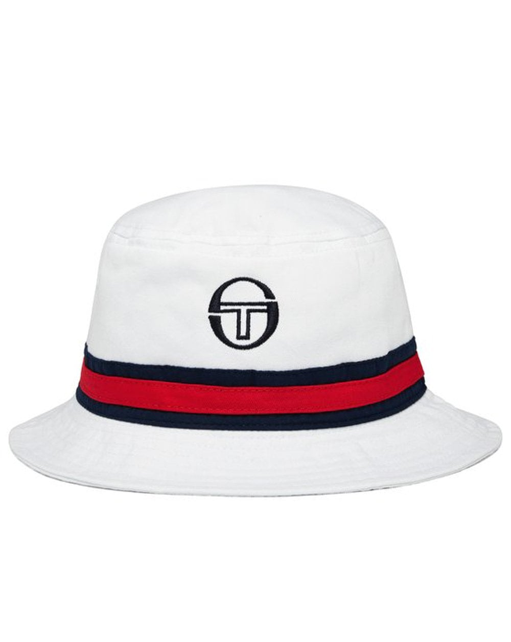 0a2c239eed3 Sergio Tacchini Sergio Tacchini Ivo Bucket Hat White navy