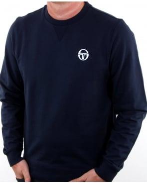 Sergio Tacchini Logo Sweatshirt Navy/white