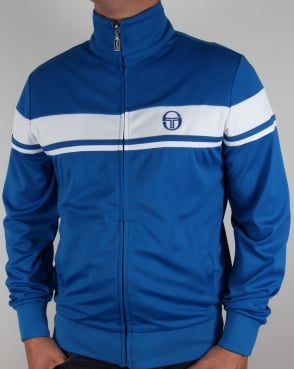 Sergio Tacchini Masters II Track Top Royal/White