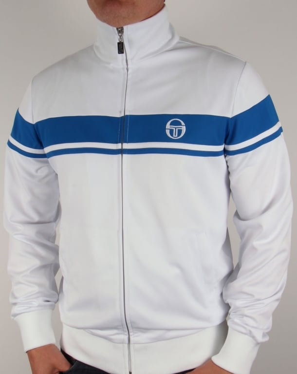 Sergio Tacchini Masters II Track Top White/Royal