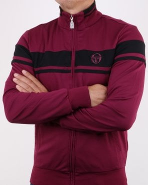 Sergio Tacchini Masters Track Top Dark Purple/Black