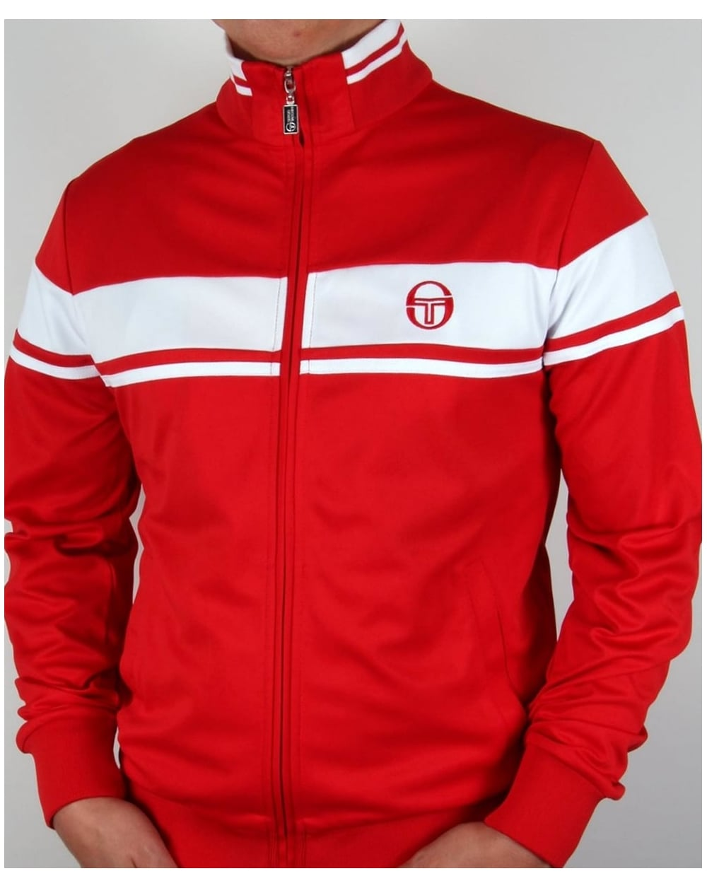 3097cec1a2d5 Sergio Tacchini Masters Track Top Red/White,tracksuit,jacket,mens