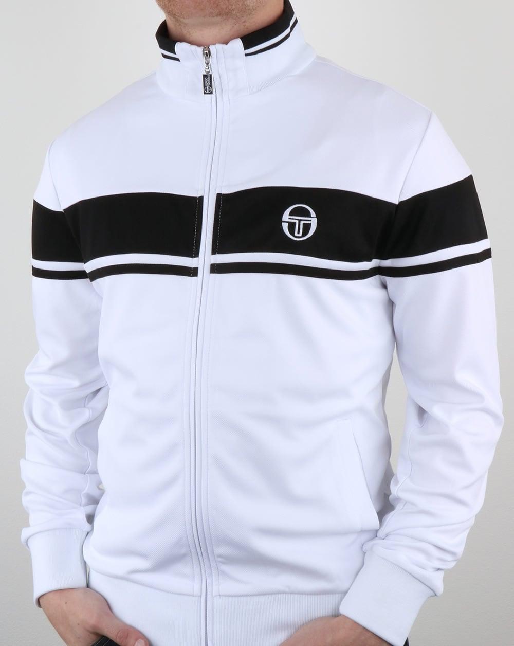 4edb85d14d Sergio Tacchini Masters Track Top White/Black,tracksuit,jacket