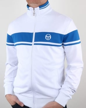 Sergio Tacchini Masters Track Top White/Royal