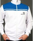 Sergio Tacchini New Young Line Track Top White/royal Blue