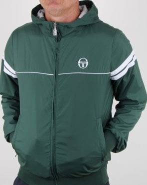 Sergio Tacchini Orion Hooded Jacket Forest Green