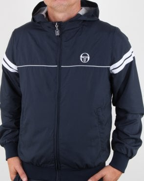 Sergio Tacchini Orion Hooded Jacket Navy