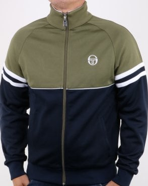 Sergio Tacchini Orion Track Top Navy/Olive