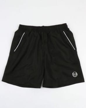 Sergio Tacchini Rob Shorts Black/White