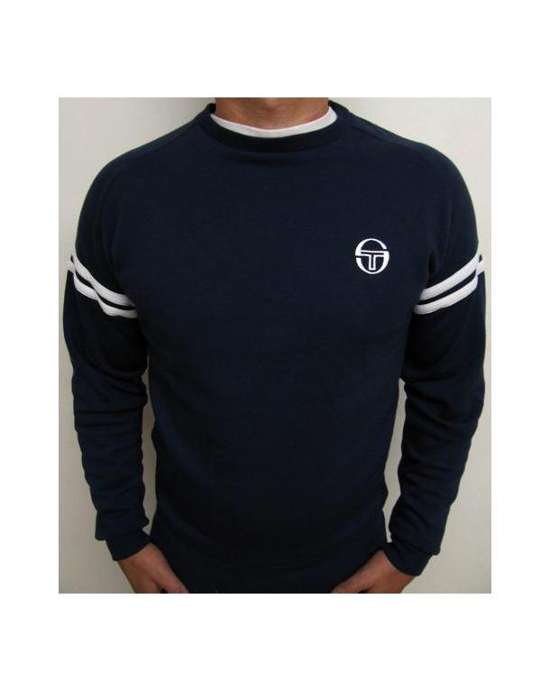 Sergio Tacchini Star Crew Neck Sweatshirt Navy