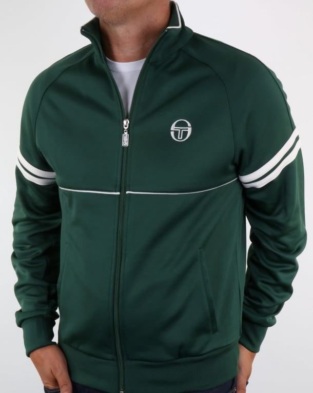 Sergio Tacchini Star Track Top Forest Green
