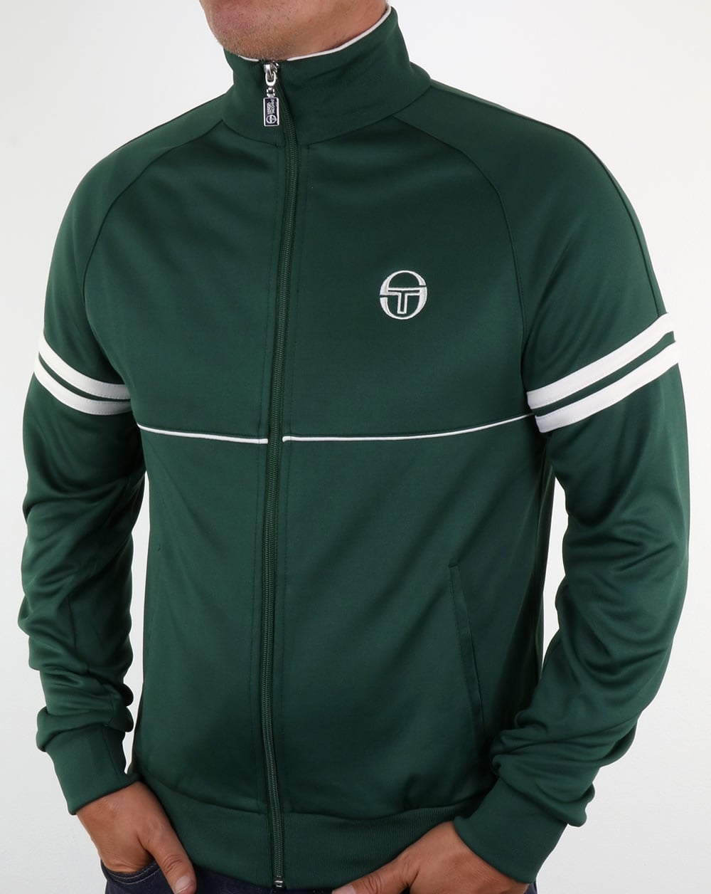 0a54efd9 Sergio Tacchini Star Track Top Forest Green,tracksuit,jacket,mens