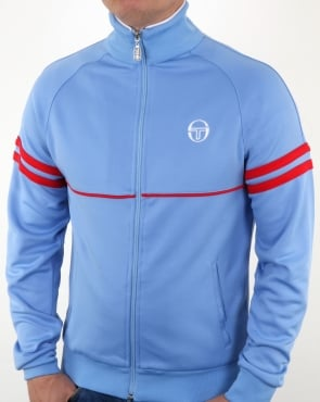 Sergio Tacchini Star Track Top Sky Blue/Red