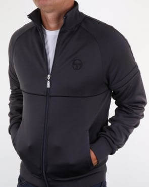 Sergio Tacchini Star Track Top Smoke Grey/Black