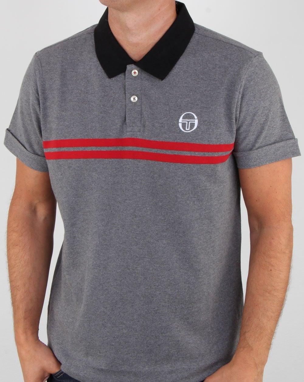 e077d762 Grey Polo Shirts Mens | Top Mode Depot