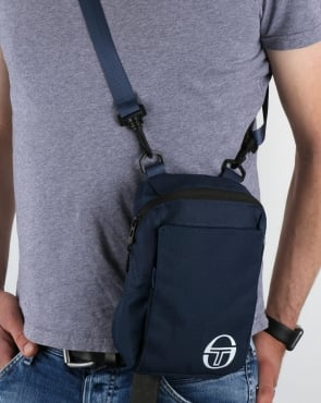 Sergio Tacchini Valy Shoulder Bag Navy/White