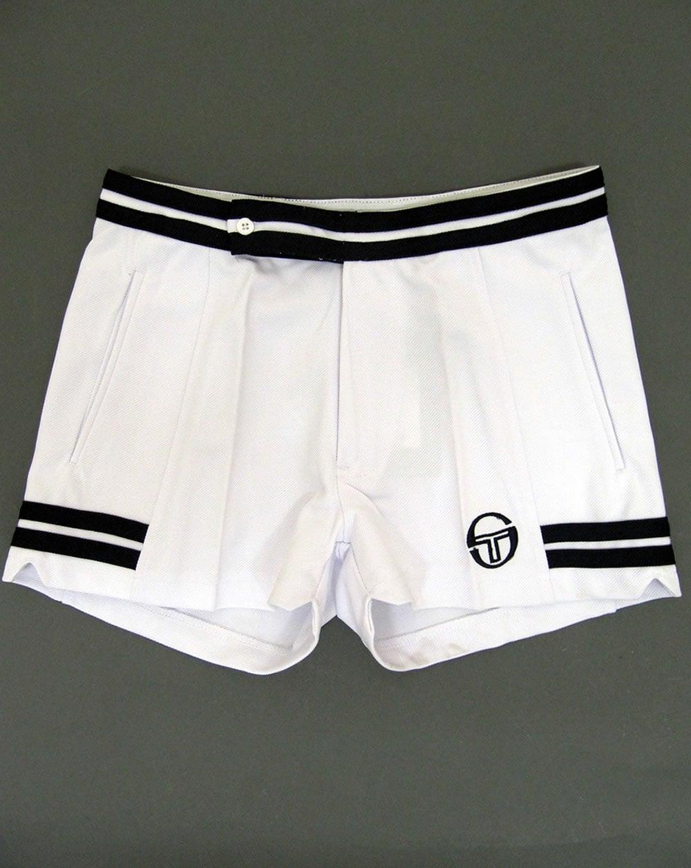 13f88f888332f Sergio Tacchini Vitas Shorts White/navy - sergio tacchini tennis shorts