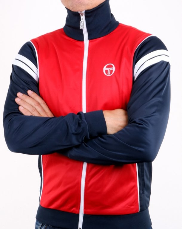 Sergio Tacchini Winner Track Top Red/navy