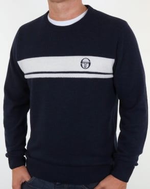 Sergio Tacchini Young Line Jumper Navy/ivory