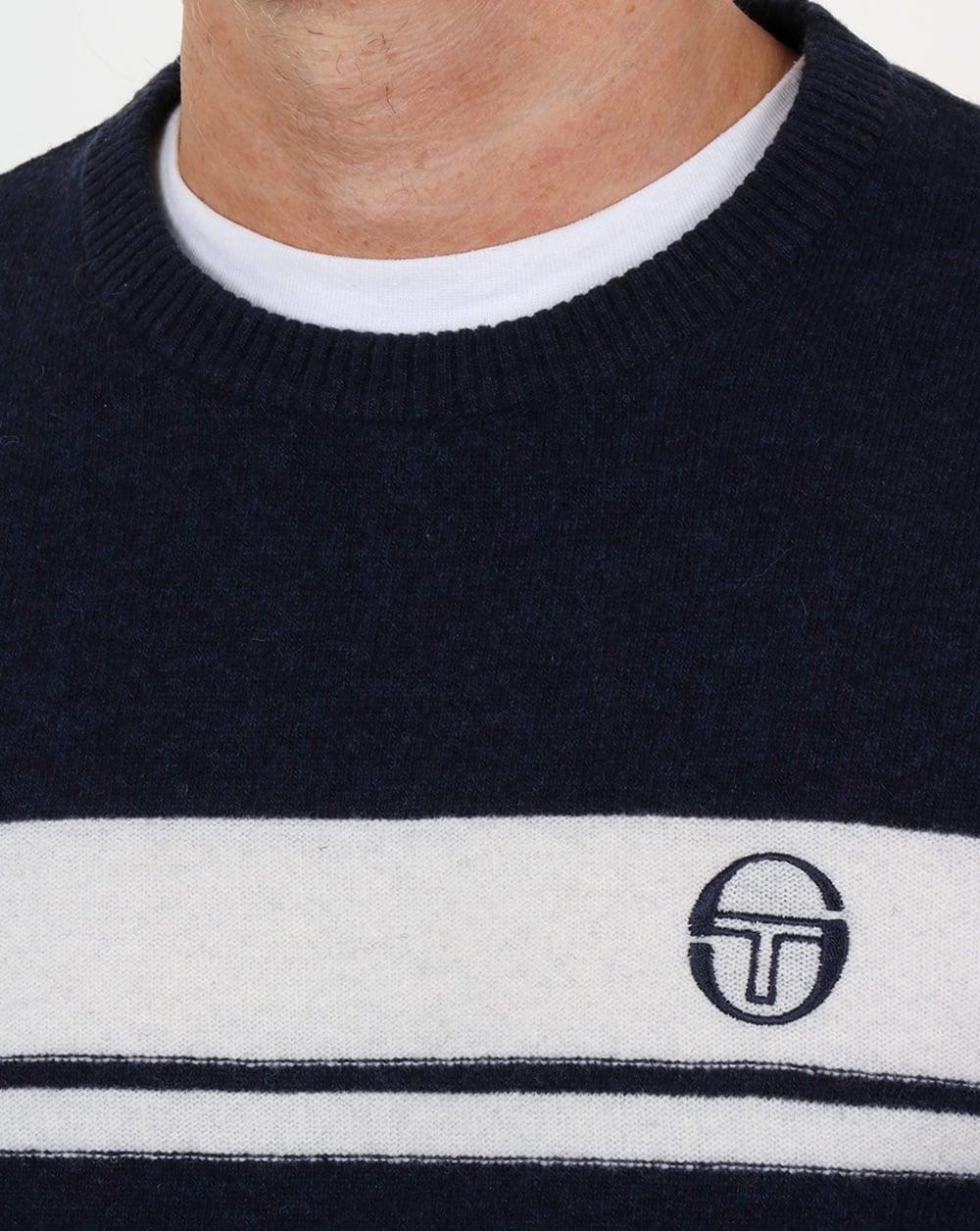 Sergio Tacchini Young Line Jumper NavyIvory