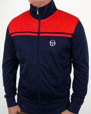 Sergio Tacchini Young Line Track Top Navy/Red