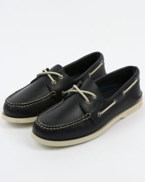 Sperry Authentic Original 2 Eye Boat Shoes Navy