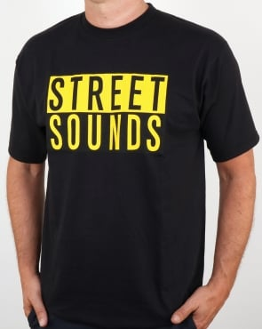 Street Sounds Classic Logo T-shirt Black
