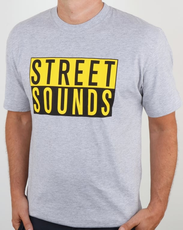 Street Sounds Classic Logo T-shirt Grey