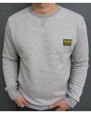 Street Sounds Crew Neck Sweatshirt Grey