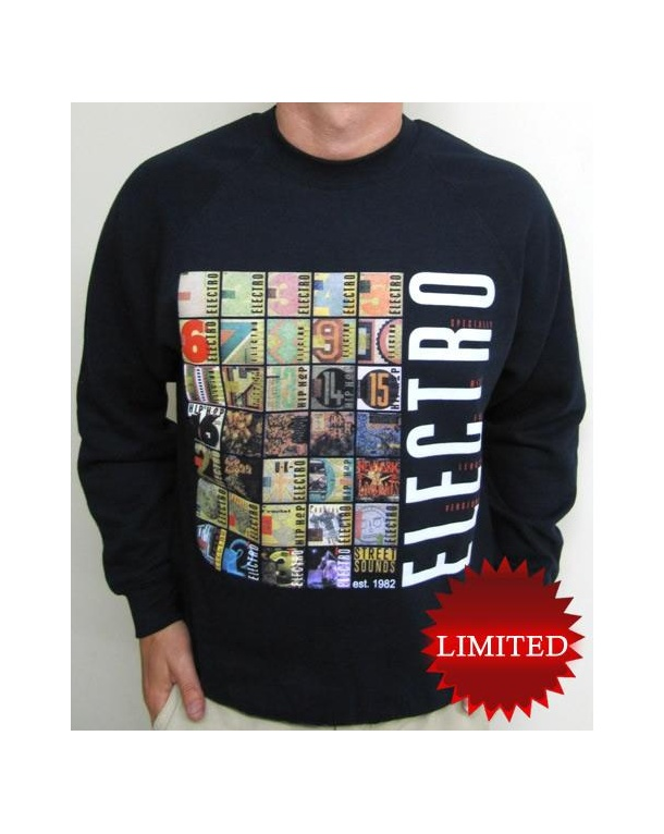 Street Sounds Electro Sweatshirt Navy