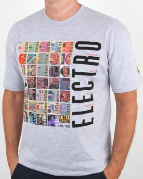 Street Sounds Electro T-shirt Grey