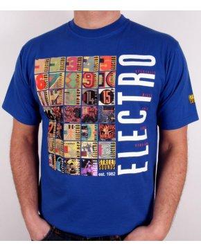 Street Sounds Electro T-shirt Royal Blue