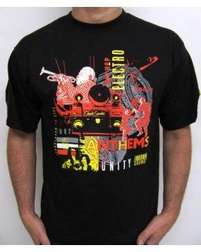 Street Sounds Montage T-shirt Black