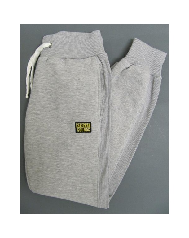 Street Sounds Tracksuit Bottoms Grey