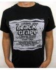 Stub Clothing Black Grape Poster T-shirt Black
