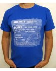 Stub Clothing James Ticket T-shirt Royal Blue