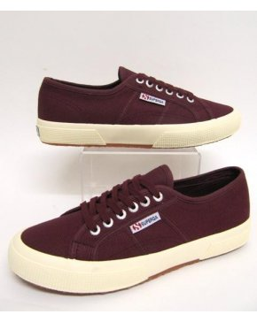 Superga Cotu Classic Trainers Dark Burgundy