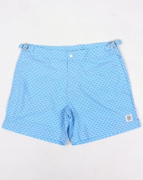 Supremacy Shorts Supremacy Reef Tailored Swim Shorts Blue
